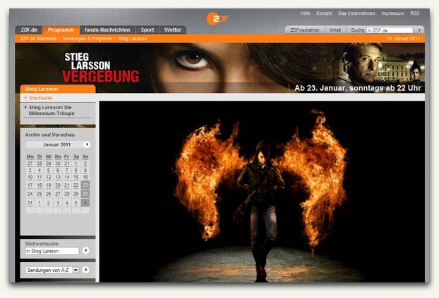Millennium-Trilogie im ZDF
