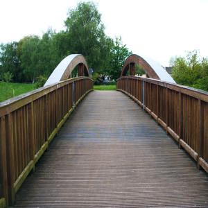 Brücke über die Weiße Elster bei Bornitz