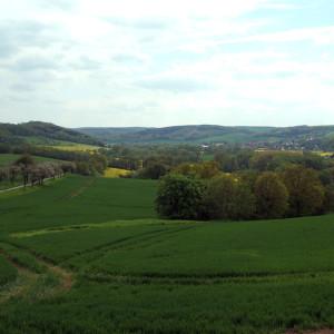 Blick vom Sachsenberg