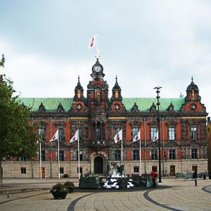 Zwischenstopp Malmö: Rathaus