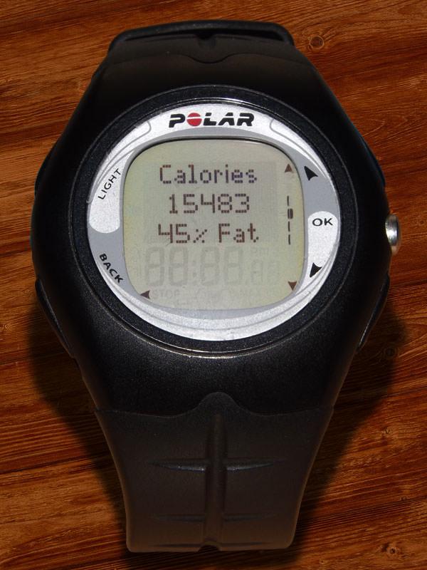 Kalorien- und Fettverbrauch