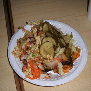 Lasagne mit Gemüse in Hjo