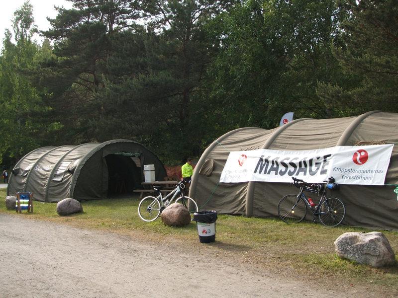 Massagezelt Station Boviken
