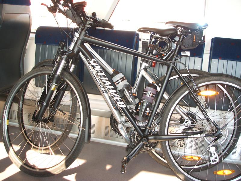 Räder in der Bahn