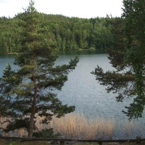 Seeblick in Boviken