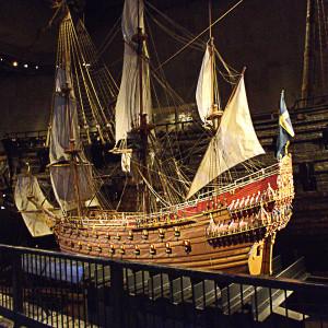 Die Vasa - als Modell