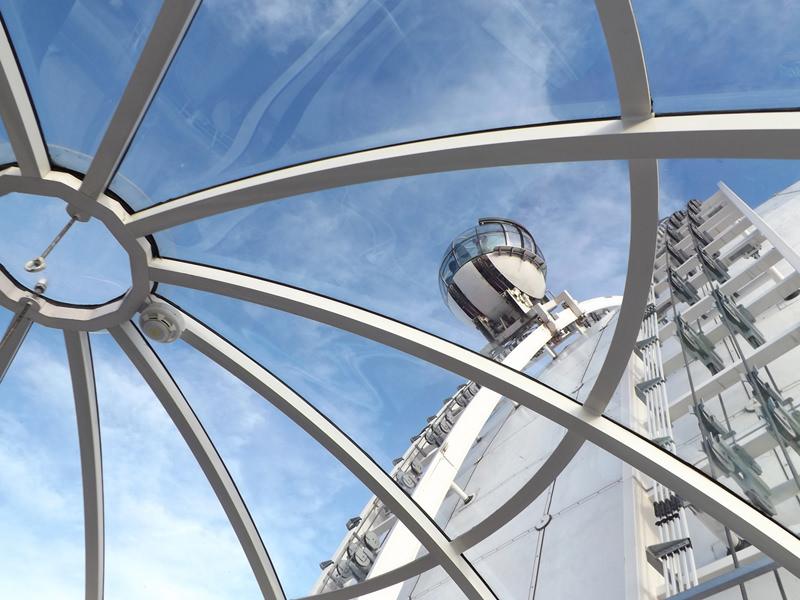 Blick aus dem SkyView am Globen
