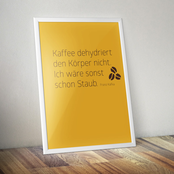 Kaffeeweisheit Kafka